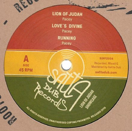 Pacey - Lion Of Judah Showcase (Satta Dub) 12